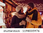 having fun together at a... | Shutterstock . vector #1198035976