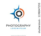 photography logo template... | Shutterstock .eps vector #1198047253