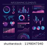 vector set of infographic...