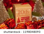 december 20th in advent...   Shutterstock . vector #1198048093