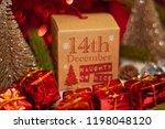december 14th in advent...   Shutterstock . vector #1198048120