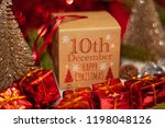 december 10th in advent...   Shutterstock . vector #1198048126