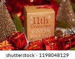 december 11th in advent...   Shutterstock . vector #1198048129