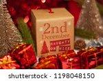 december 2nd in advent...   Shutterstock . vector #1198048150
