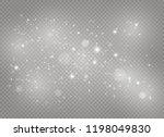 white sparks glitter special... | Shutterstock .eps vector #1198049830