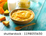 porridge millet pumpkin... | Shutterstock . vector #1198055650