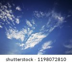 blue sky with clouds  blue sky... | Shutterstock . vector #1198072810