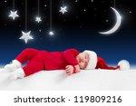 Christmas Baby Is Sleeping On...
