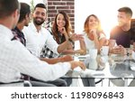 close up of the creative team...   Shutterstock . vector #1198096843