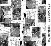 seamless pattern collage design.... | Shutterstock . vector #1198097623