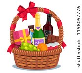 Christmas Basket With Products...