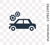 car wrenc and cogwheels vector... | Shutterstock .eps vector #1198115983