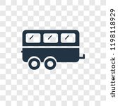 caravan vector icon isolated on ... | Shutterstock .eps vector #1198118929
