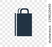 bag vector icon isolated on...