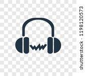 headphones vector icon isolated ...