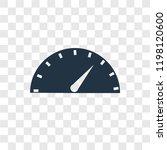 speedometer vector icon...