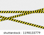 creative police line black and... | Shutterstock .eps vector #1198133779