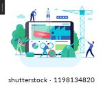 business series  color 3 ... | Shutterstock .eps vector #1198134820
