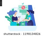 business series  color 3  ... | Shutterstock .eps vector #1198134826