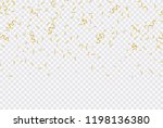 colorful confetti. festive of... | Shutterstock .eps vector #1198136380