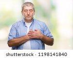 handsome senior man over...   Shutterstock . vector #1198141840