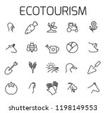 ecotourism related vector icon... | Shutterstock .eps vector #1198149553
