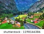 Colorful Hdr Image Of Flam    ...