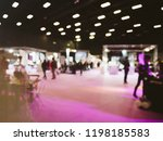defocused blur view of wedding... | Shutterstock . vector #1198185583