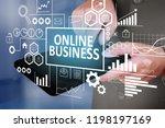business education concept....   Shutterstock . vector #1198197169