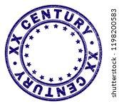 xx century stamp seal imprint... | Shutterstock .eps vector #1198200583