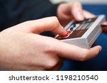 budapest  hungary   february 17 ...   Shutterstock . vector #1198210540