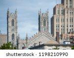 montreal  quebec canada  05 19... | Shutterstock . vector #1198210990