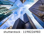 chigaco buildings view in a... | Shutterstock . vector #1198226983
