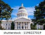 california state capitol...   Shutterstock . vector #1198227019