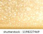golden festive glitter... | Shutterstock . vector #1198227469
