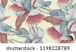 floral seamless pattern ... | Shutterstock .eps vector #1198228789