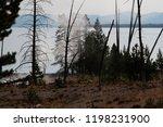 west thumb geyser basin in...   Shutterstock . vector #1198231900