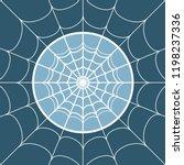 cobweb background. spiderweb... | Shutterstock .eps vector #1198237336