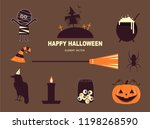 set of characters  for... | Shutterstock .eps vector #1198268590