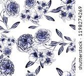 abstract elegance seamless... | Shutterstock . vector #1198274269
