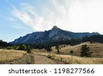 Chataqua Flat Irons In Boulder