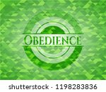 obedience realistic green... | Shutterstock .eps vector #1198283836