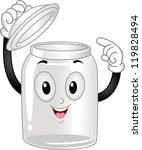 Mascot Illustration Of An Empt...