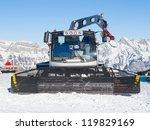 snow groomer in the swiss alps | Shutterstock . vector #119829169