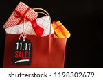 online shopping of china single ...   Shutterstock . vector #1198302679