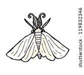 moth illustration | Shutterstock .eps vector #119832346