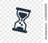 hourglass vector icon isolated...