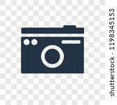 photo camera vector icon...