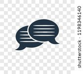 message bubble vector icon...