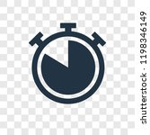 time almost full vector icon...